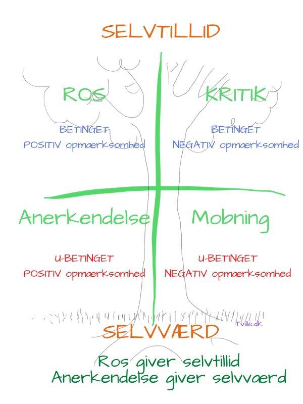 Selvværd og Selvtillid - forskellen og styrken - Tville